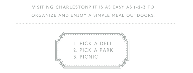 Have a picnic in Charleston
