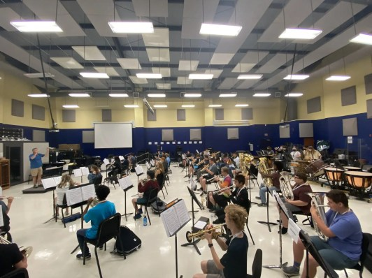 Two hundred campers participated in the 2021 music camps at Charleston Southern