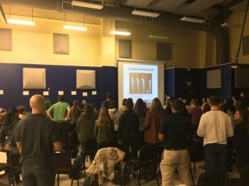 musician's health & safety seminar at Charleston Southern University