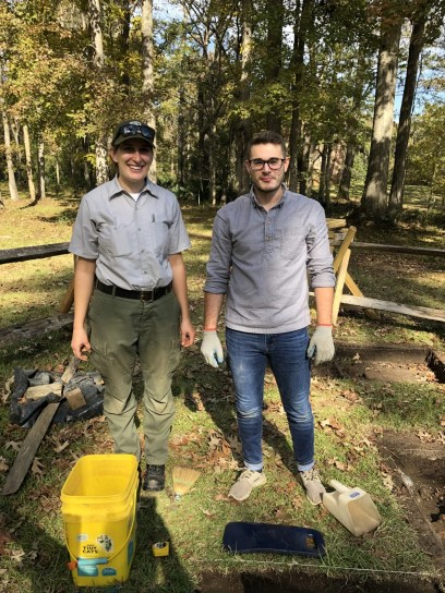 CSU junior interns for archaeologist at Colonial Dorchester