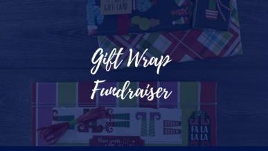Gift wrap fundraiser
