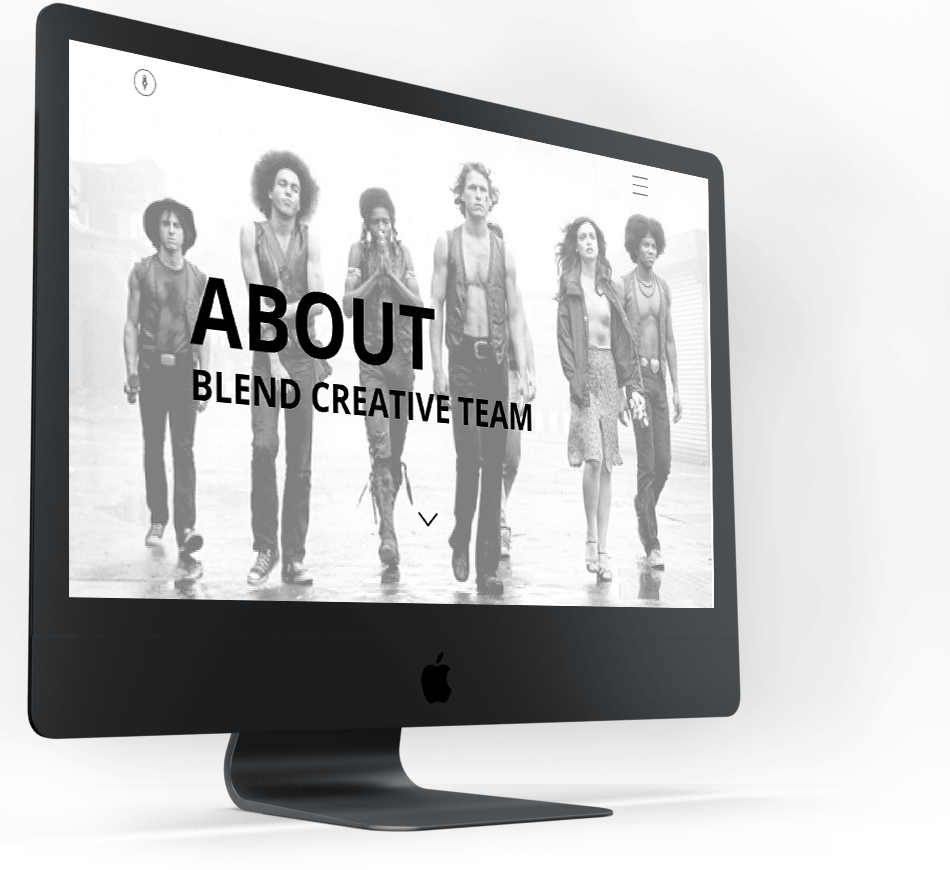 About Blend screen