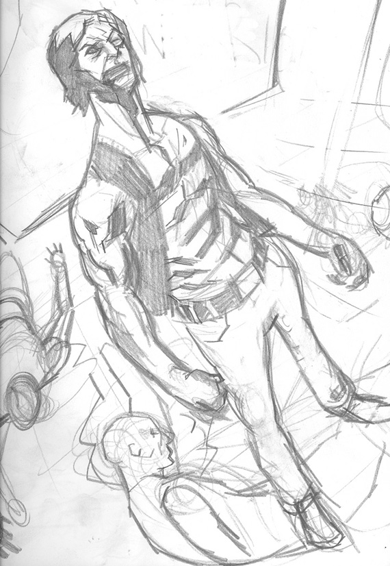 The Warriors sketch