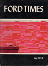 Ford Times   July 1952   Charley Harper Prints   For Sale
