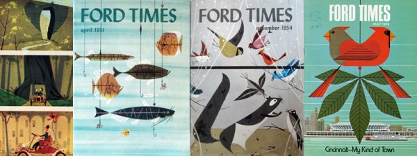 Ford Times   Charley Harper Prints   For Sale