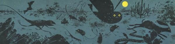 Golden Book of Biology | Desert | Charley Harper Prints | For Sale