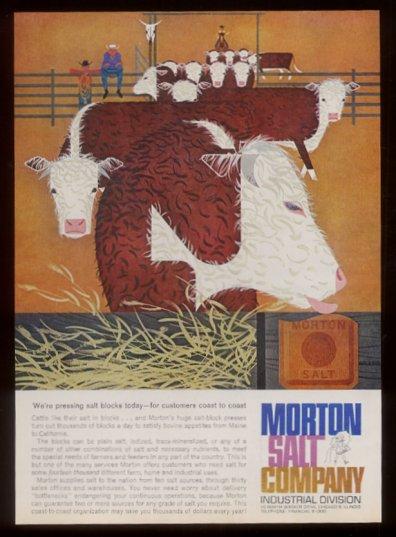 Morton Salt Company | Commercial Works | Charley Harper Prints | For Sale