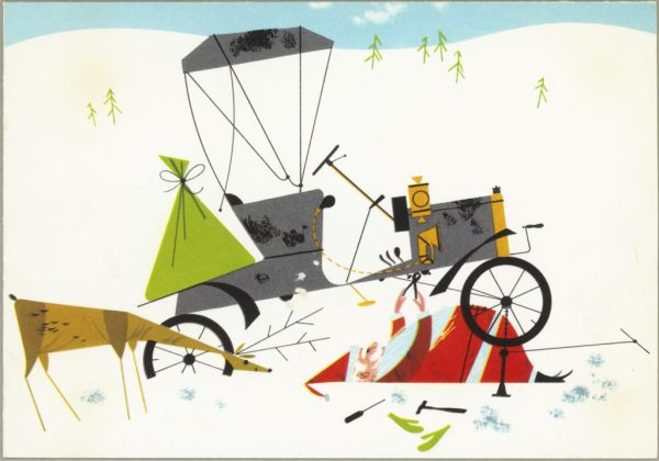 Unscheduled Stop   Charley Harper Prints   For Sale