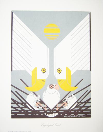 Eagological Event 400   Charley Harper Prints   For Sale