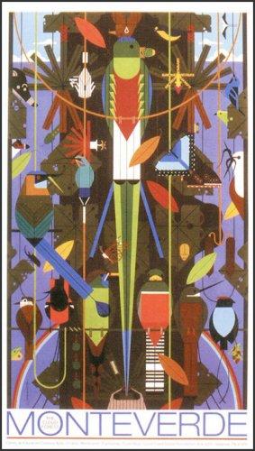 Monteverde   Charley Harper Prints   For Sale
