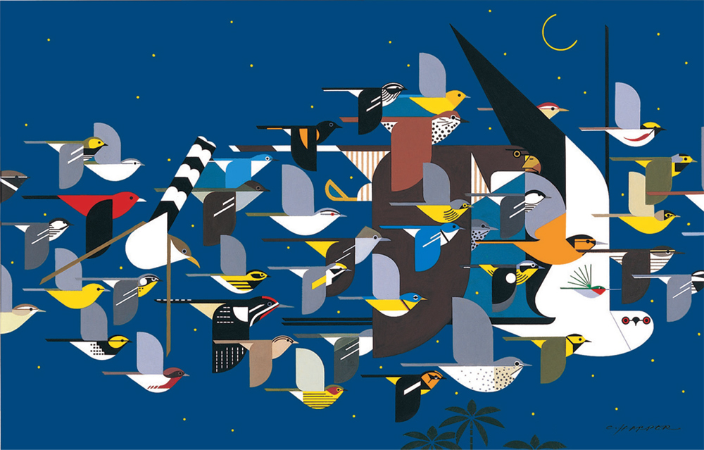 Mystery of the Missing Migrants | Charley Harper Prints | For Sale