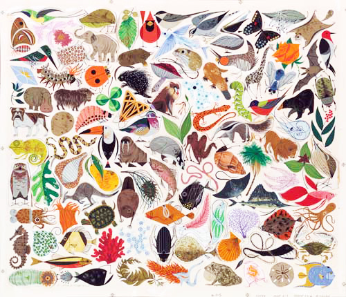 Tree of Life 500 | | Charley Harper Prints | For Sale