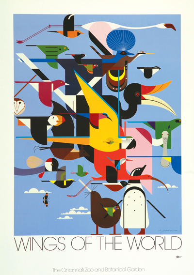 Wings Of The World   Charley Harper Prints   For Sale