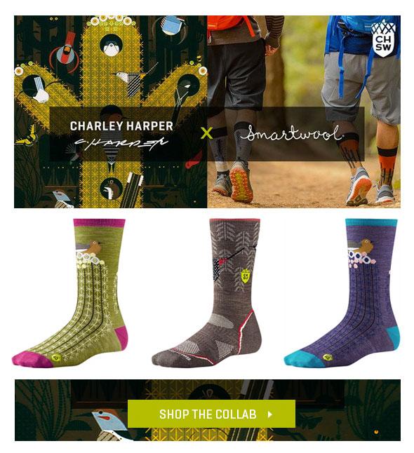 Charley Harper Smartwool Socks