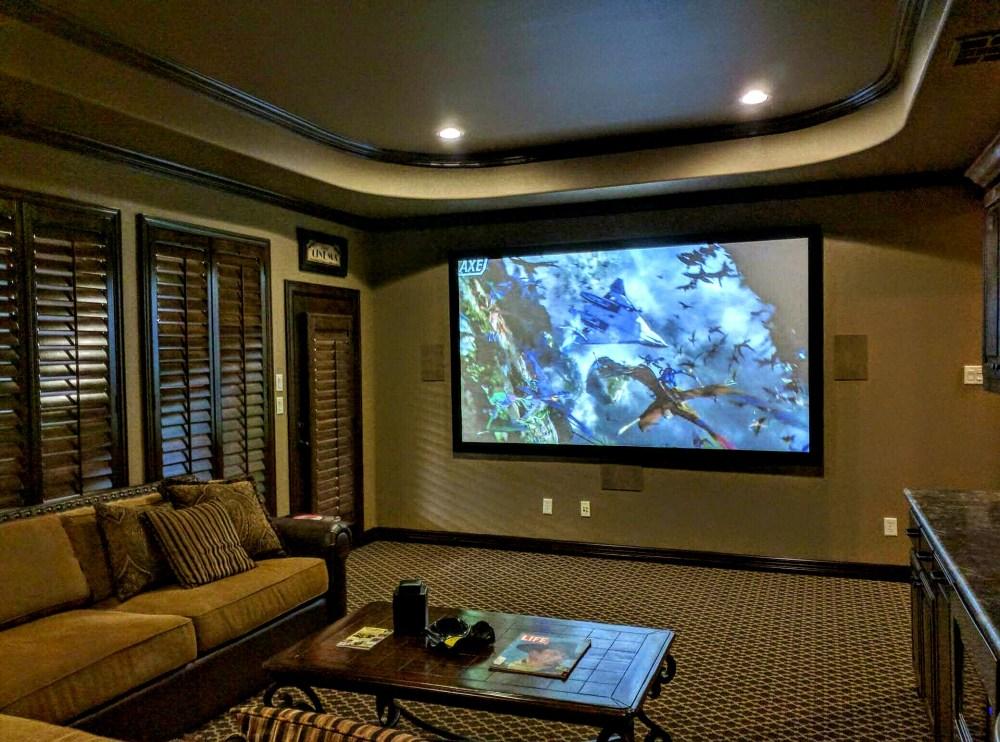 medium resolution of flower mound home theater installation