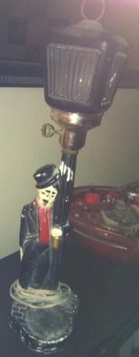 Charlie Chaplin Drunk Hobo Lamp | Charlie Chaplin Club