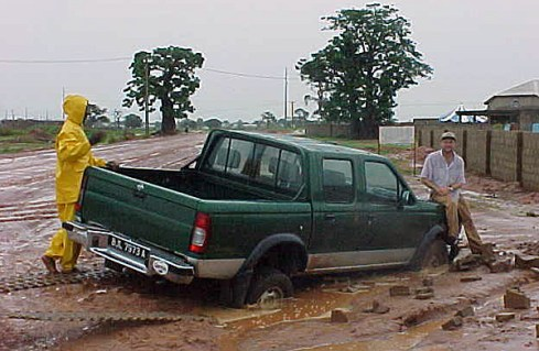 2000 Nissan Pickup - Gambia Mission's