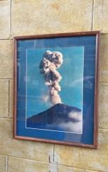 In museum.