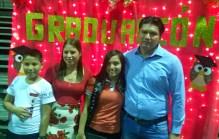Her family! Rudito, Mayra, Nelyin & Rudy.