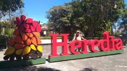 """Me in Heredia! """"The City of Flowers."""""""