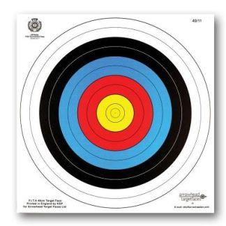60cm reinforced target face