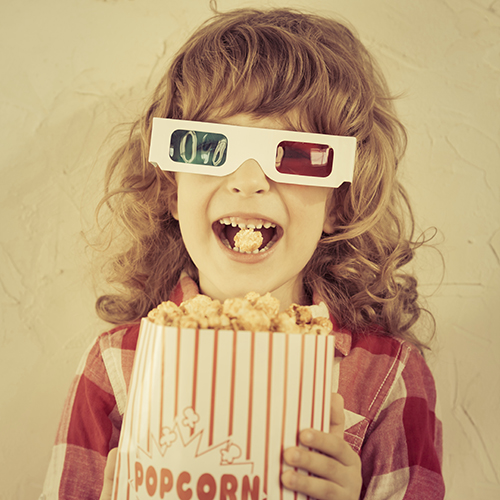 Tussen popcorn en Picasso