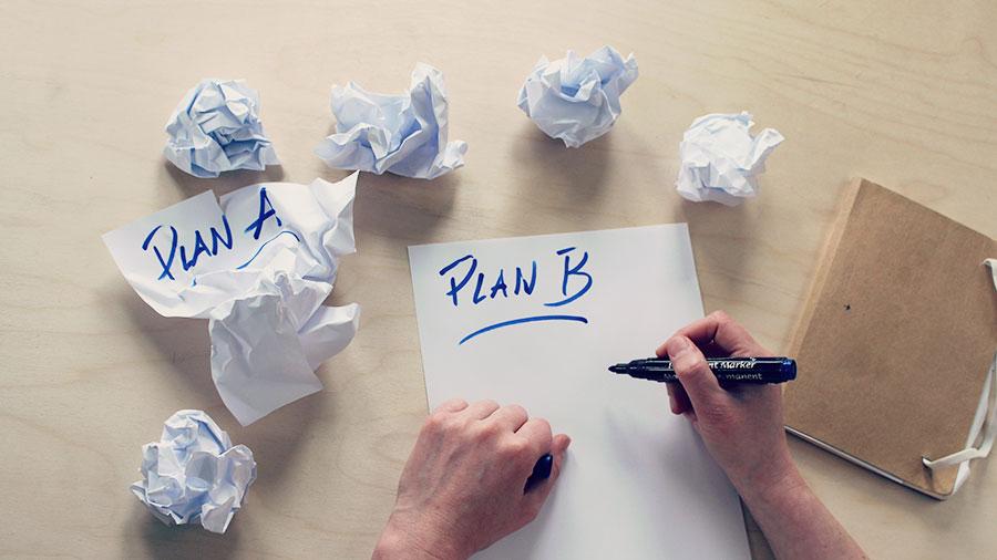 Wat we nodig hebben, is een Plan B