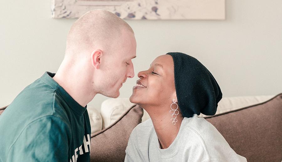 dating een blanke man als een zwarte vrouw