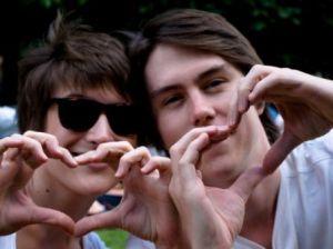 Charlie & John, friendship feels better