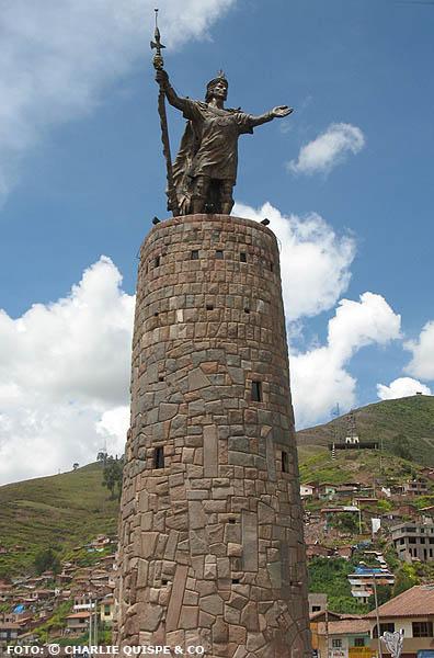 Monumento al Inca Pachacutec  Cusco