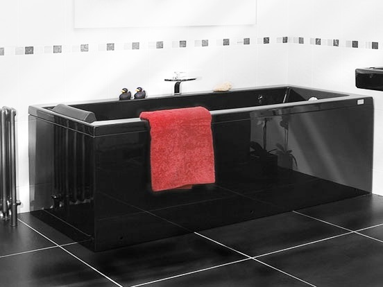 Art Deco black Bathroom suite  Bathroom Design