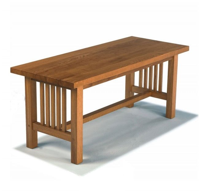 arts and crafts style chair beach lounge folding new reproduction movement frank lloyd wright mission prairie oak coffee table