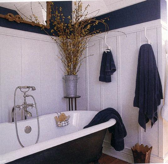 William Morris style Arts  Crafts Movement bathroom