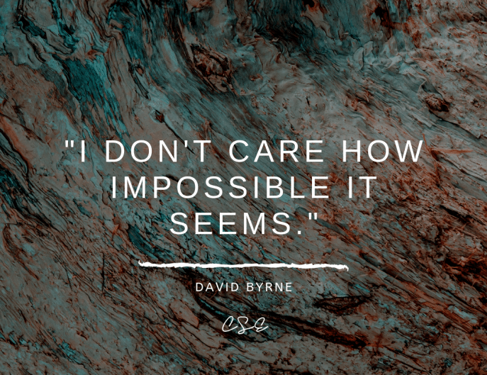 Music, Quotes & Coffee - picture of a quote by david byrne