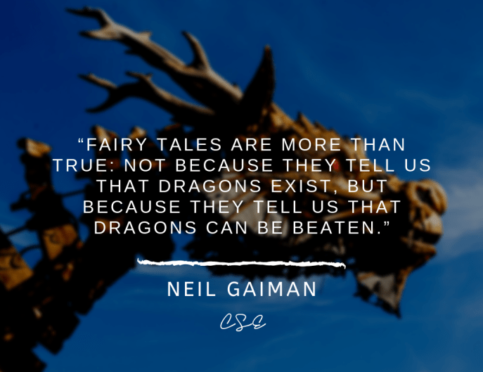 Music, Quotes & Coffee - Picture of a quote by neil gaiman