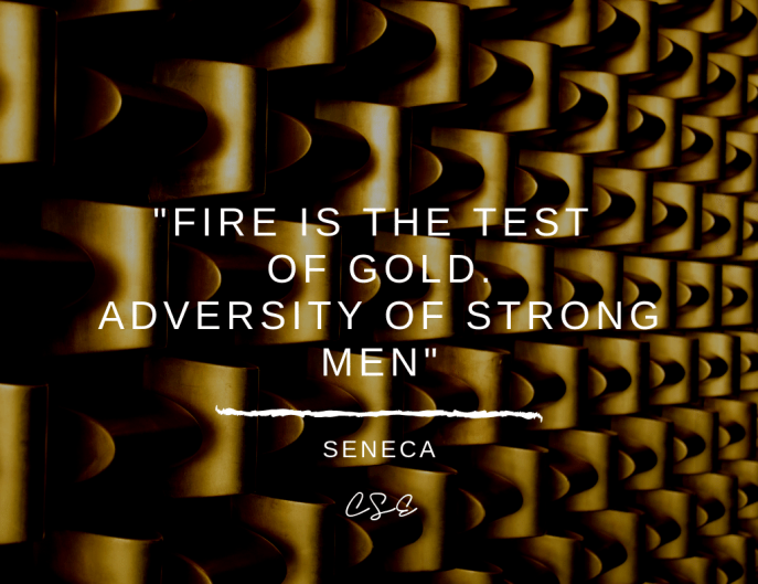 picture of a quote by Seneca. Music, Quotes & Coffee