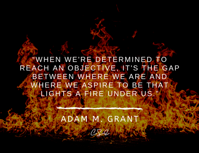 Music, Quotes & Coffee - Picture of a quote by adam grant
