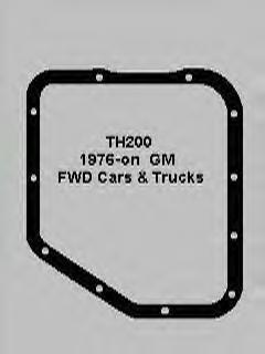 GM 200THM transmission