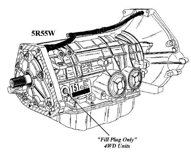 5r55s oil diagram