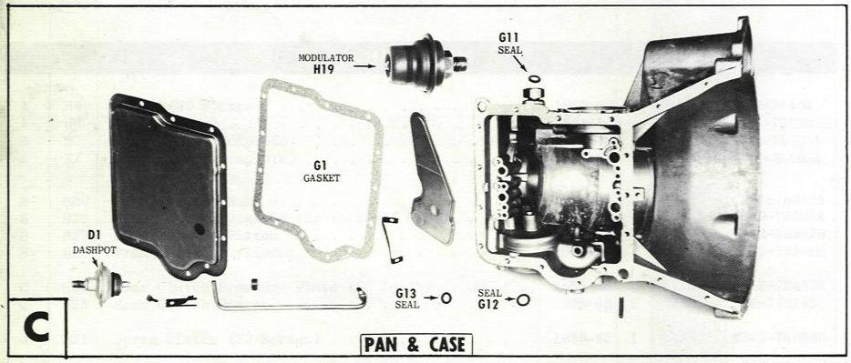 1963 Cadillac Transmission Rebuild Kit 1963 Circuit Diagrams