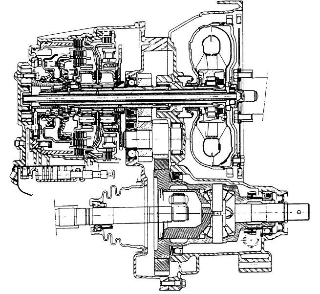 AMC MB1 transmission