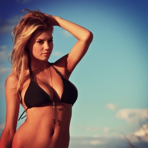 Charlotte McKinney - Beach - 05