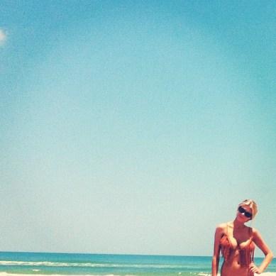 Charlotte McKinney - Beach - 11