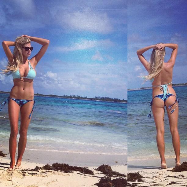 Charlotte McKinney - Beach - 24