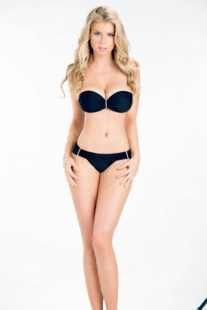 Charlotte McKinney - For Oh La La Cheri swimwear 2014 - 03