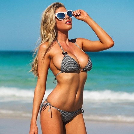 Charlotte McKinney - Megane Claire for Guess - 02