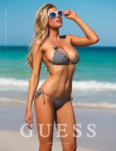 Charlotte McKinney - Megane Claire for Guess - 03