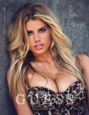 Charlotte McKinney - Megane Claire for Guess - 08