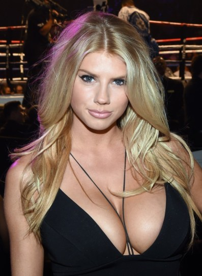 Charlotte McKinney at the Floyd Mayweather vs. Manny Pacquiao Fight - 01