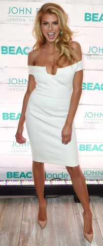 Charlotte McKinney - John Frieda Hair Care Beach Blonde Collection Party - 10